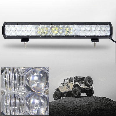 5d 20 Inch Off Road Led Light Bar Cree Led 126w 30 Degree Spot 60 Degree Flood Combo Beam Car Light For Off Road Truck 4wd Boat Jeep Beautifulhalo Com