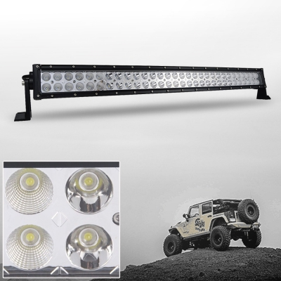 3C 32 Inch Off Road LED Light Bar CREE LED 180W 30 Degree Spot 60 Degree Flood Combo Beam Car Light For Off Road 4WD Jeep Truck ATV SUV Boat