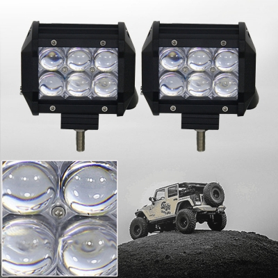 4wd Light Bars Led light bars for trucks beautifulhalo 5d 4 inch off road led light bar cree led 18w 30 degree spot beam car audiocablefo