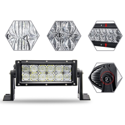 5D 7 Inch Off Road LED Light Bar CREE LED 36W 60 Degree Flood Beam Car Light For Off Road 4WD Jeep Truck ATV SUV