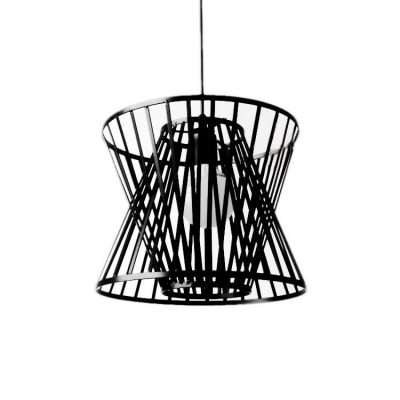 Industrial Hanging Pendant Light In Nordic Style With Novelty Wire