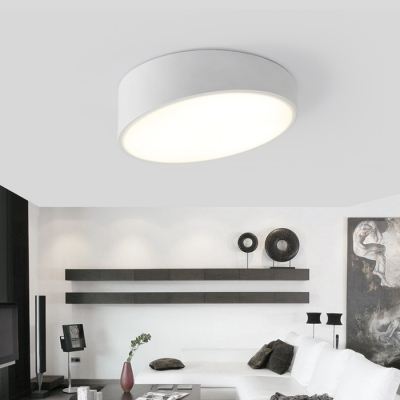 Round Cut LED Surface Mount Light Modern, 15.7 Inch