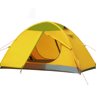 1-Person Backpacking 3-Season Double Layer Water-Proof Dome Tent (Yellow ...  sc 1 st  Beautifulhalo : 1 person 3 season tent - memphite.com