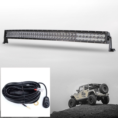 5d 42 inch off road led light bar cree led 240w 30 degree spot 60 degree flood combo beam car light for off road 4wd jeep truck atv suv with 1 wire harness_15010530239 5d 42 inch off road led light bar cree led 240w 30 degree spot 60 led light bar wire harness at bayanpartner.co