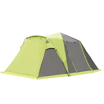 4-person 3-season Instant Quick-pitch Tent For Camping, Hiking, Beach And Fishing