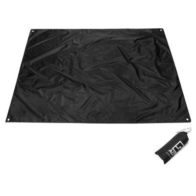 Image of 2 Person Black Color Tent Footprint