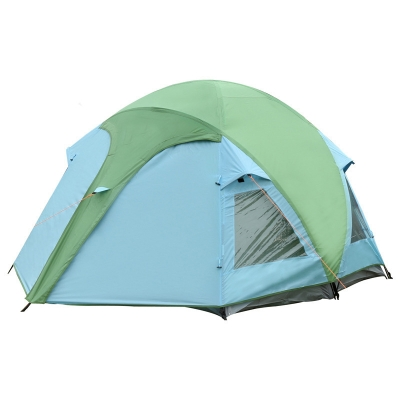 Ultralight 3-4 Person Outdoors Camping and Hiking Water Resistant Anti-UV 3-Season Dome Tent, CH444340
