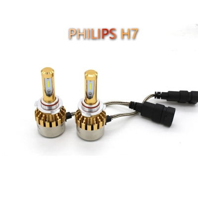 philips p9 car led headlight bulbs h7 72w 7600lm 6000k led. Black Bedroom Furniture Sets. Home Design Ideas