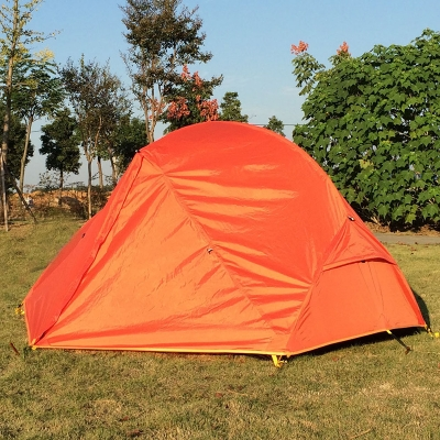 ... Double Layer Ultralight 2-Person Backpacking Waterproof 4-Season Dome Tent Orange ... & Double Layer Ultralight 2-Person Backpacking Waterproof 4-Season ...