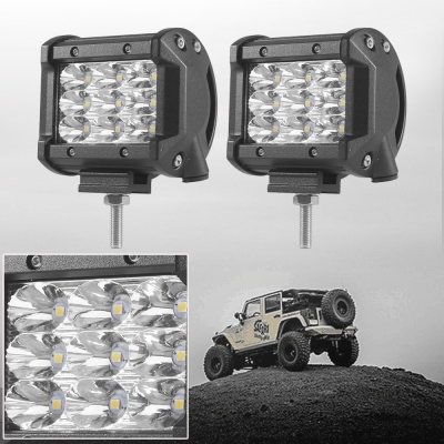 4 inch off road led light bar 27w 30 degree spot beam car light for 4 inch off road led light bar 27w 30 degree spot beam car light for off aloadofball Images