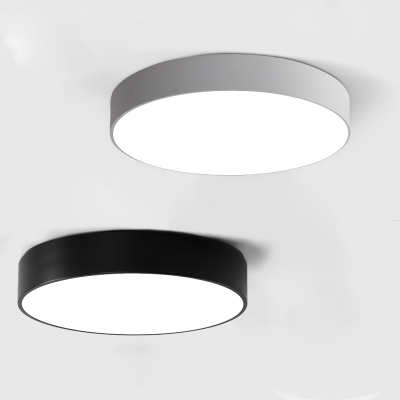 Black finished led round flush mount light modern 10 15 lights black finished led round flush mount light modern 10 15 lights aloadofball Image collections