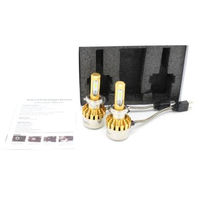 Philips P9 Car LED Headlight Bulbs 9005 72W 7600LM 6000K LED, Pack of 2