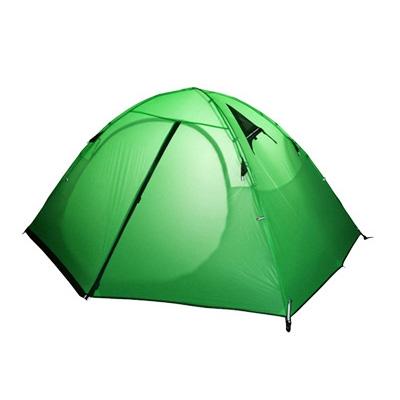 Купить со скидкой Ultralight Outdoors Water Proof 3-Person 20D Nylob Double-sided Silicone 3- Season Camping Backpacki