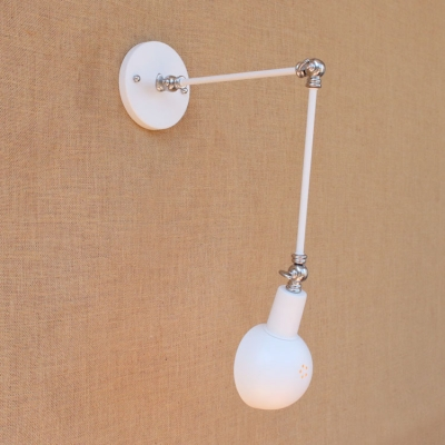 Industrial Swing Arm Wall Sconce 11