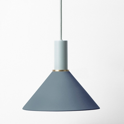 Industrial Pendant Light in Nordic Style with Conical Shade
