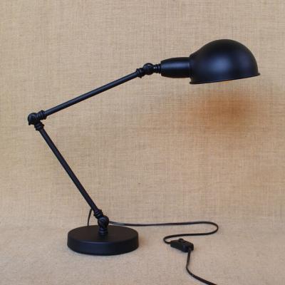 Adjustable Metal LED Desk/Table Lamp in Dark Bronze