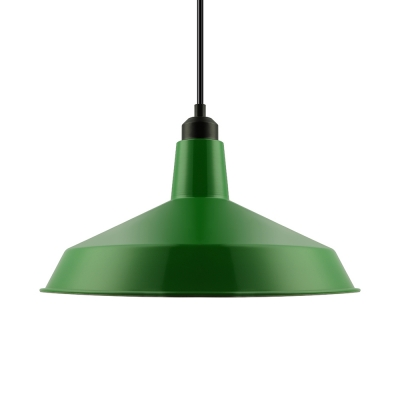 Dark Green Full Sized Industrial LED Pendant Lighting in Warehouse  Shape