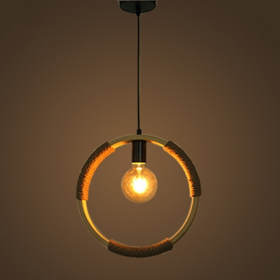 Industrial single pendant light globe rope hanging fixture in open industrial single pendant light globe rope hanging fixture in open bulb style aloadofball Images