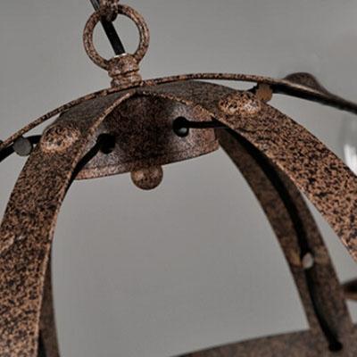 Industrial Mottled Rust Iron Finish 28