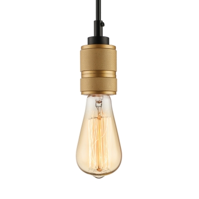 Simple 1 Light Edison Bulb LED Pendant Lighting
