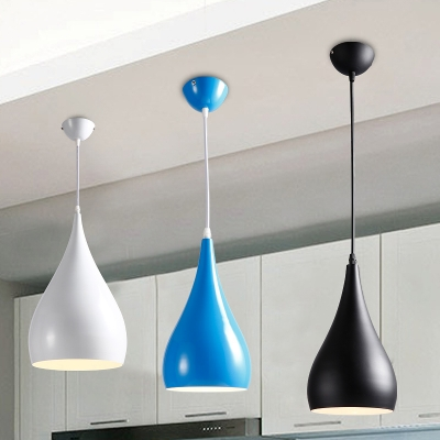 Industrial Pendant Light in Nordic Style with 6