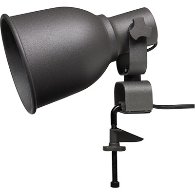 Industrial Wall Light with Dome Metal Shade, Black/White