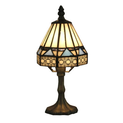 Geometric Table Lamp with 6