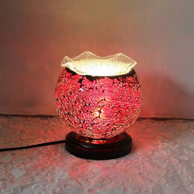 Tiffany-Style Mini Table Lamp with 6