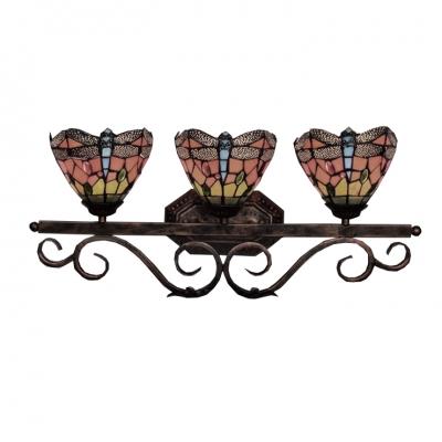 Dragonfly Tiffany Style,Vintage 25
