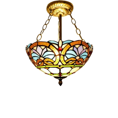 Baroque Style Stained Glass Shade 12