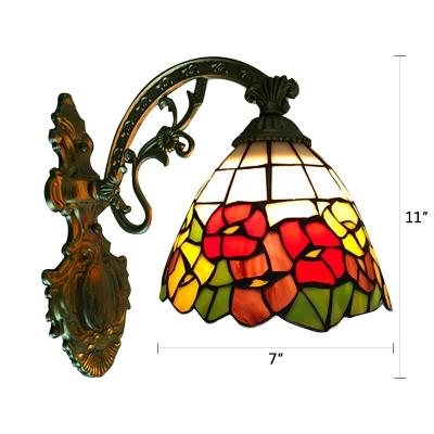 Floral Bell Design Tiffany Pattern 12