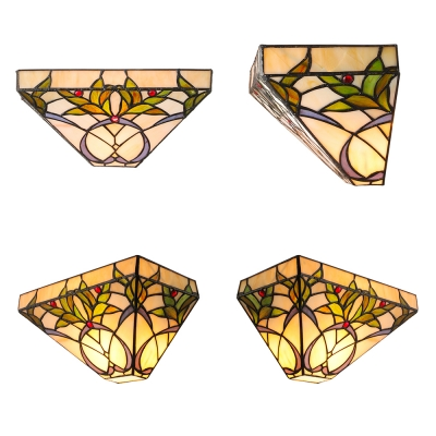 Vintage Stained Glass Tiffany 12