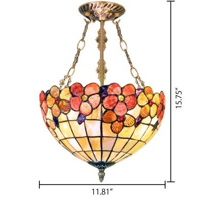 2/3-Light Inverted Pendant Light 12