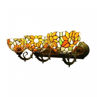 Tiffany Floral Theme Bowl Shape 24