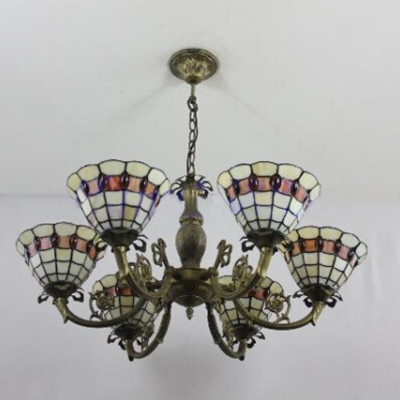 Tiffany Style Floral Shape Up Lighting 31