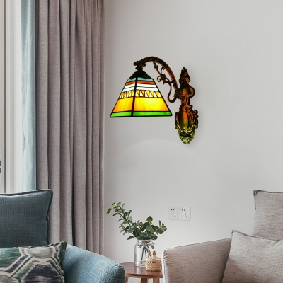 Colored Wall Sconce with 12.6