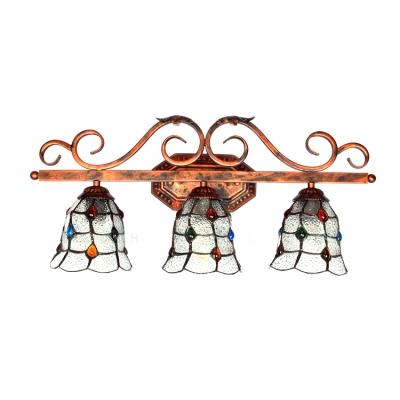 Vintage Tiffany Style 3-Light 25