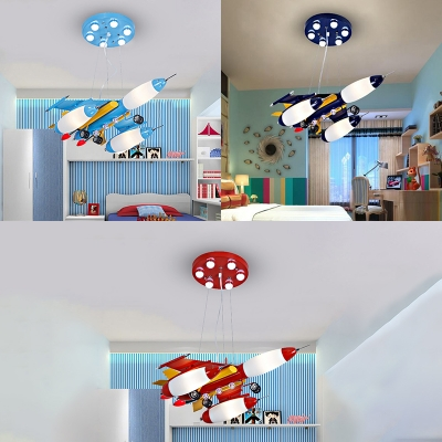 childrens bedroom lighting. Modern Children\u0027s Bedroom Lighting Led Metal Airplane Hanging Ceiling Light,  Navy/Sky Blue/ Childrens Bedroom Lighting M