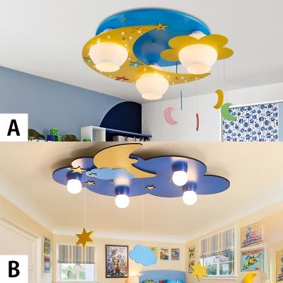 Modern Kids Children Baby Room LED Flush Mount Lighting (2 options available)