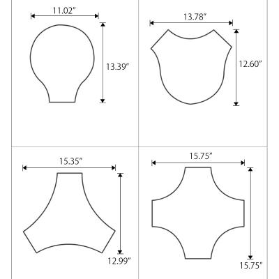 Black/White Geometric Ceiling Lamp Concise Acrylic LED Flush Mount Lighting for Kid's Classroom