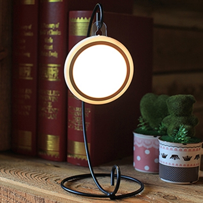 Stick Anywhere Mini Battery Powered/Rechargeable LED Night Light in Gold/Silver