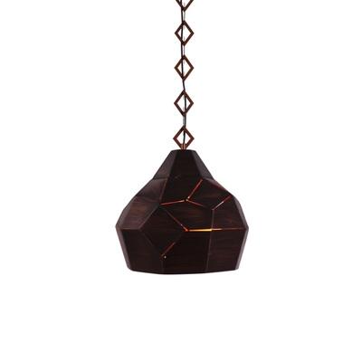 Whimsical Style Single Head Lighting Fixture in Satin Black/Heritage Bronze Finish for Restaurant