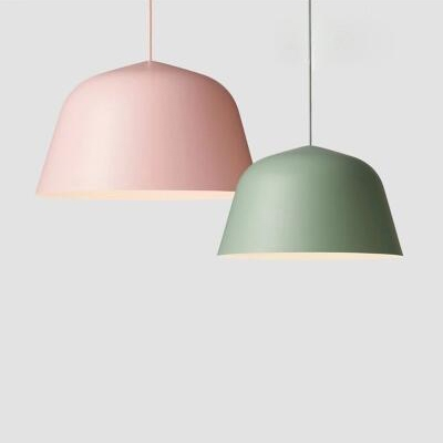 One Light Nordic Simple Style Ceiling Hanging Light Fixture 9.84