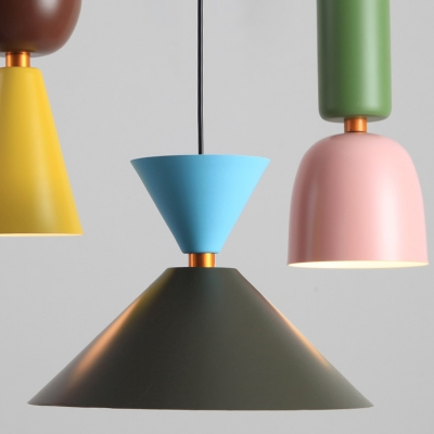 Modern Style Multiple Colors Mini Hanging Fixture for Dining Room 4 Designs Available