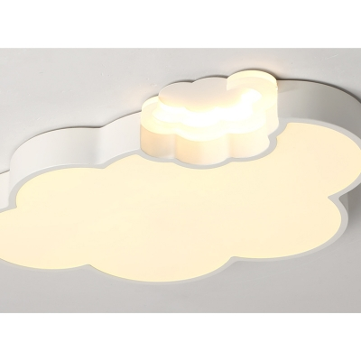 Quique Acrylic Kids Room LED Ceiling Lamp Cloud Shape