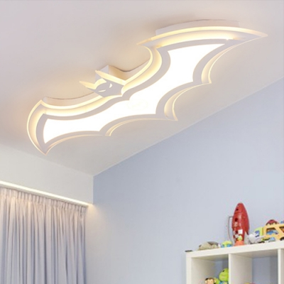Batman Boys Bedroom LED Ceiling Lamp Ultra-Thin
