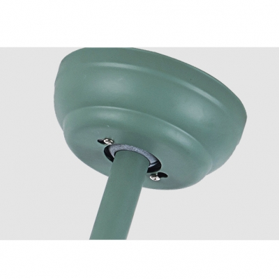 16.54'' Wide Creative Macaroon Style Propeller Green Chandelier Ceiling Fan for Kids Room 3 Blade