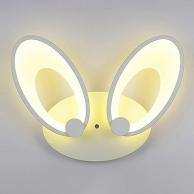 LED Kids Mini Wall Light with Cute Rabbit Ears