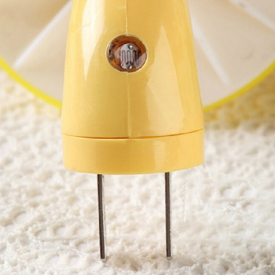 Plug-in Chargeable Mushroom Mini Wall Night Light for Corridor Stairway