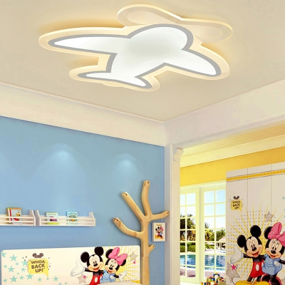 20.87 Inch Helicopter Boys Room LED Ceiling Lamp  Ultra-Thin